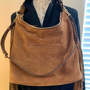 Michael Kors Bags - Michael Kors Suede Hobo Bag
